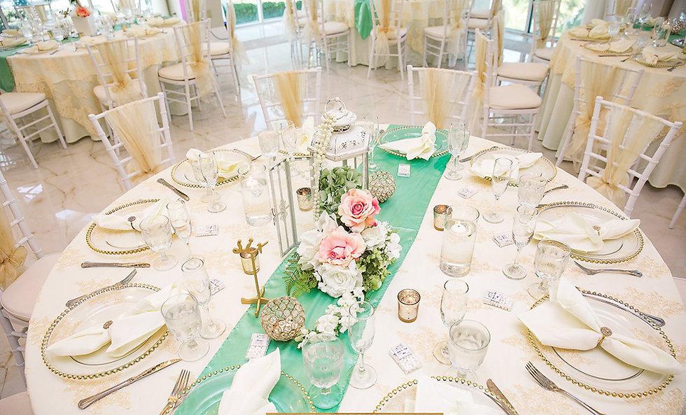 Crystal Ballroom at Sunset Harbor Destination Wedding