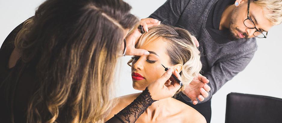 Wedding Hairstyle and Wedding Makeup