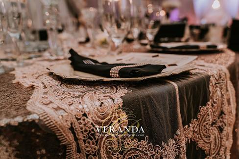 Crystal Ballroom at Veranda wedding venue
