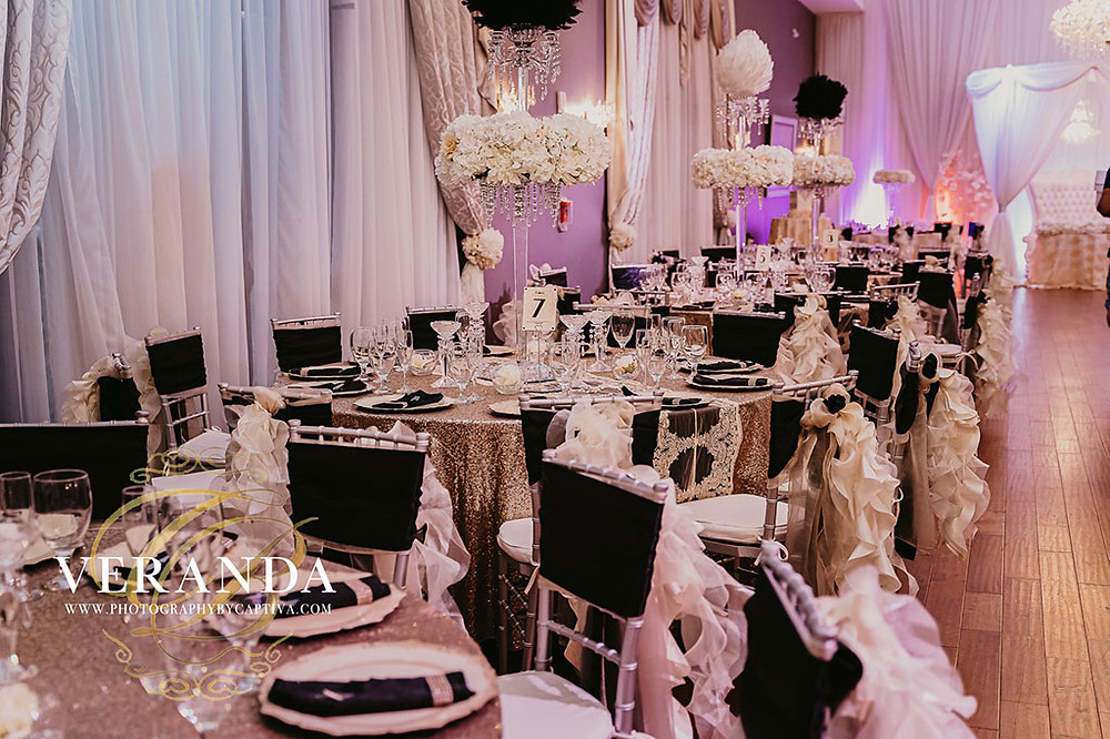 Wedding Themes at Crystal Ballroom at Veranda