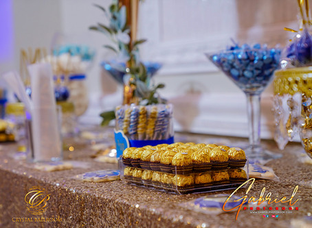 Candy Bar at the Wedding Venue