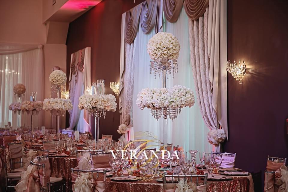 Wedding Catering at Crystal Ballroom at Veranda