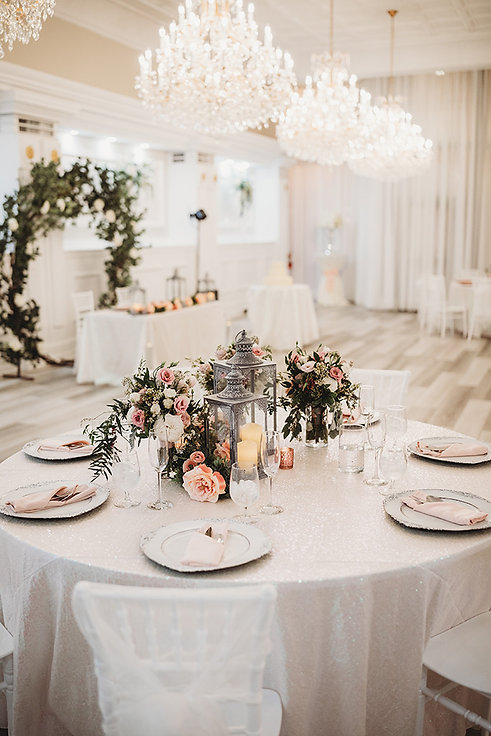 Receptions at the Banquet Hall