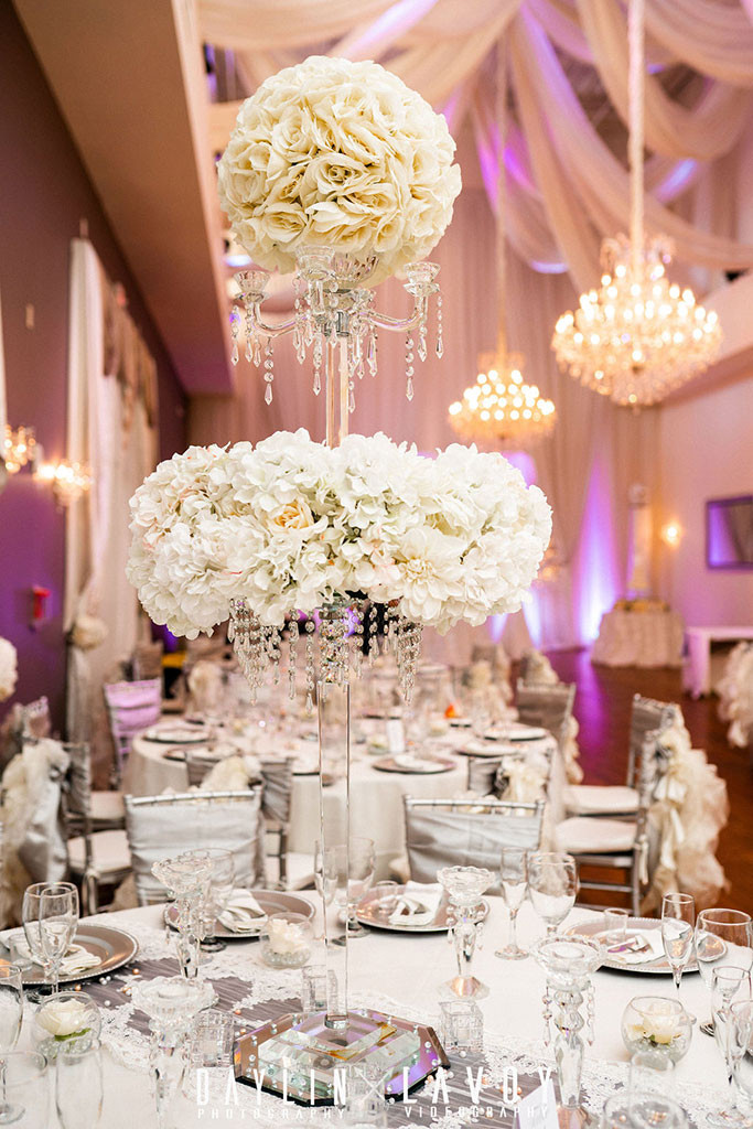 Crystal Ballroom at Veranda Wedding Venue
