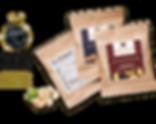 Premium Nussmischungen in Minitüte als Streuartikel für Messen mit Logodruck