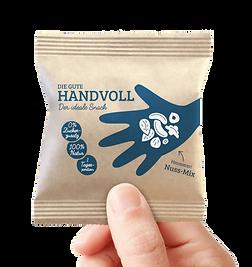 Gute Handvoll als der ideale Giveaway Snack