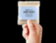 Gute Handvoll Nuss-Frucht Mischung Minitüte Papier mit Banderole mit Firmenlogo