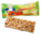 Multikorn-Himbeer Riegel mit Wunschdruck als Werbeartikel