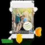 Veganes Fruchtgummi im Duo Tütchen mit Logodruck