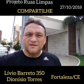 Projeto Ruas Limpas – 27/10/2018