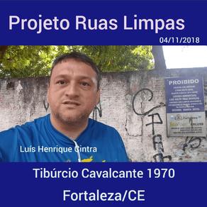 Projeto Ruas Limpas, cuidando de Fortaleza.