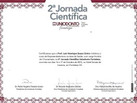 II Jornada Científica da UNIODONTO.