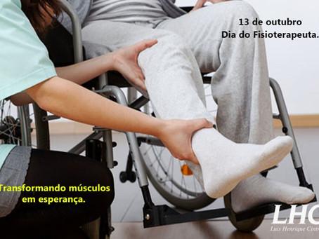 13 de Outubro – Dia do Fisioterapeuta.