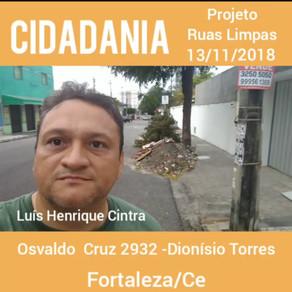 Cidadania – Projeto Ruas Limpas.