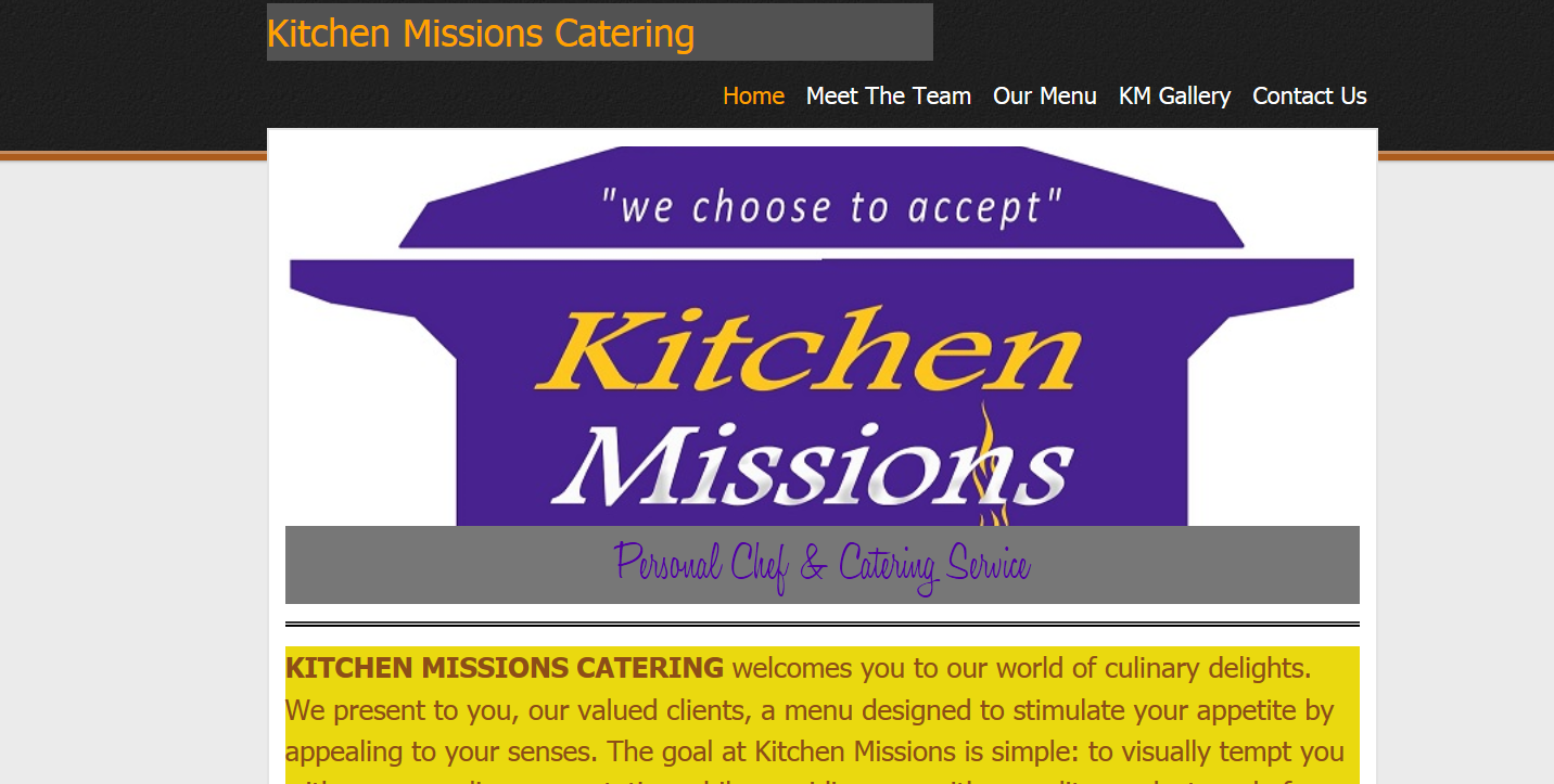 Kitchen Mission Catering