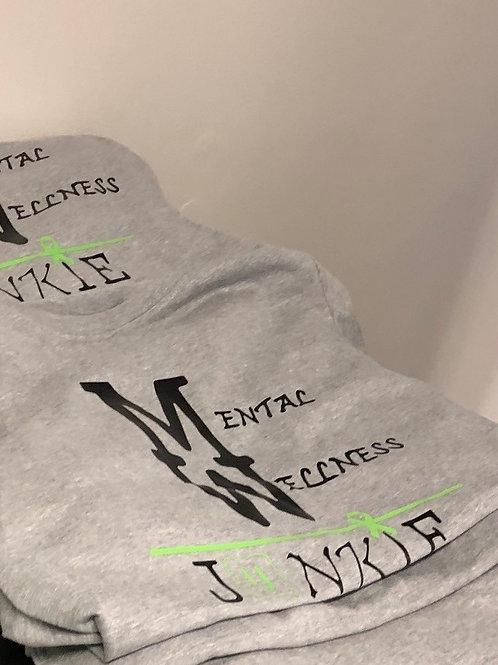 Mental Wellness Junkie-Shirts
