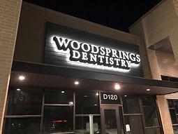 Dentist Channel Letter Sign Houston Texa
