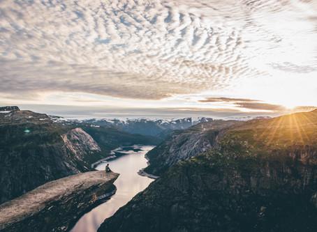 Op ontdekking in Noorwegen