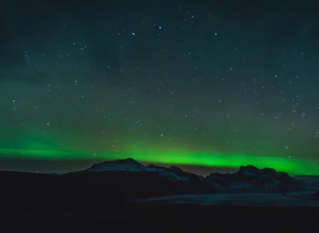 op verkenning in IJsland!