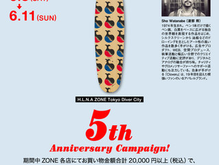 H.L.N.A. × Sho Watanabe Skate Deck
