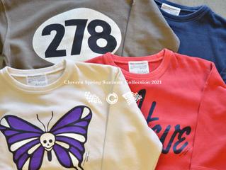 Cloveru 2021 SS Collection 第一弾発売開始!