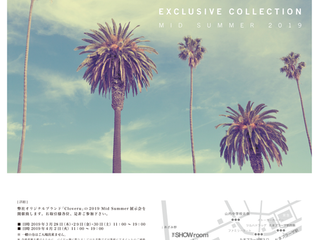 Cloveru Exclusive Collection 展示会のお知らせ