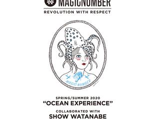 【MAGIC NUMBER with SHO WATANABE】コラボレーションモデル2月22日(土)より発売開始。