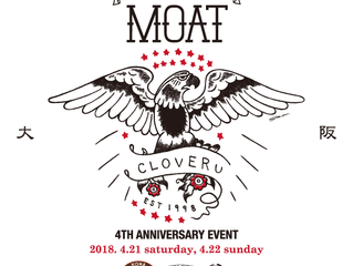 4th Anniv for MOAT 大阪へ。