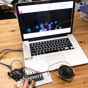 Lab6 : Serial Communication - Blooming Piano