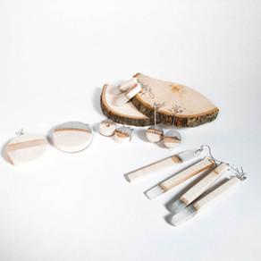 FAB5 : 2 materials : wood x resin