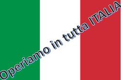 operiamo in tutta italia