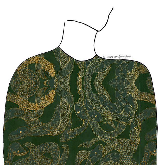 Käärmeenpesä, vihreä, 2019