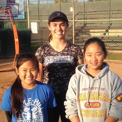 Coach Taryn, Yuri & Yennah