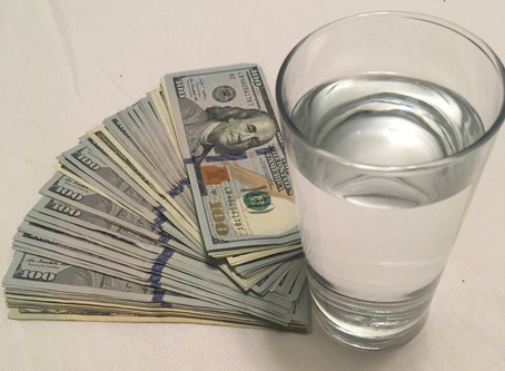 Drinking Water can Save you Thousands of Dollars.