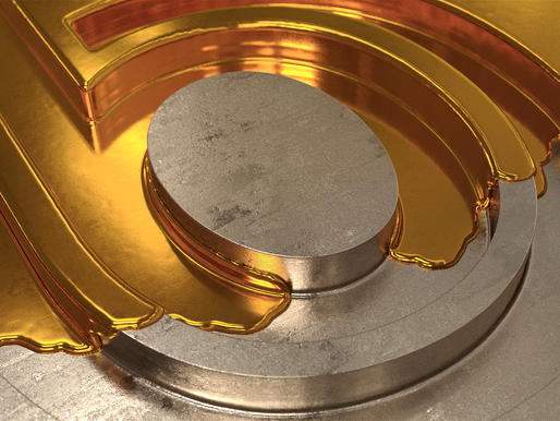 Bonbonite Liquid Gold Pin