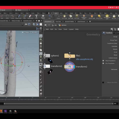 Axis center in Houdini and Pivot tips