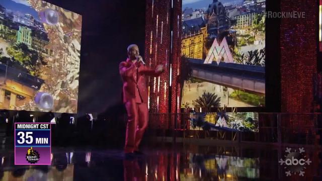 NY RocknEve Maluma Performance