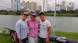 Ariela Pinto e Mayara Cardoso