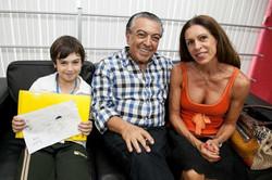 Mauricio de Sousa, Márcia e Thiago