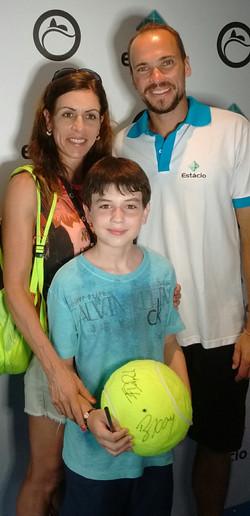 Bruno Soares, Márcia e Thiago Diniz