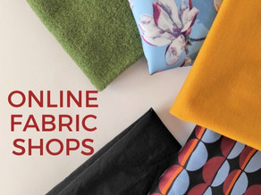 FAVORITE ONLINE FABRIC SHOPS