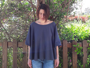 FREE PATTERN - Circle knit top