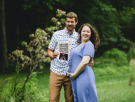 They're Expecting! Jennie + Ben Pregnancy Announcement Photos