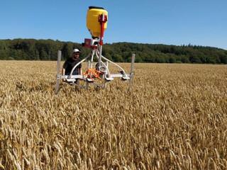 FRDKs nye såmaskine til før høst etablering af efterafgrøde parceller