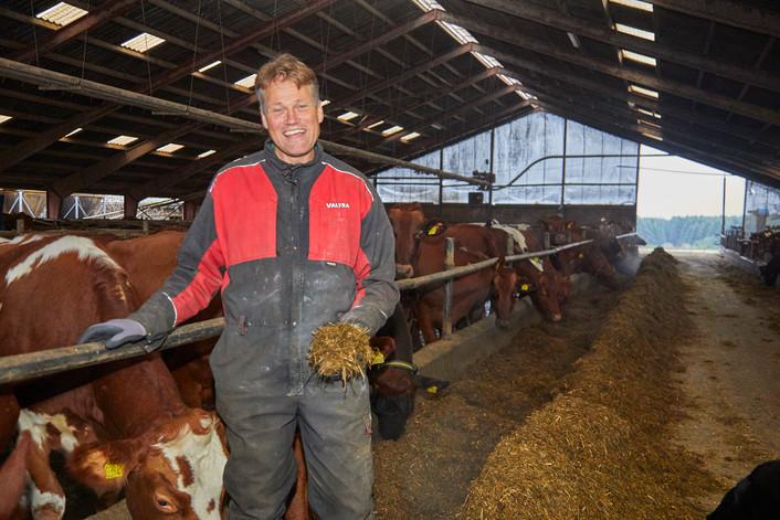 Bæredygtighedsprisen gik til mælkeproducent Kaare D. Larsen