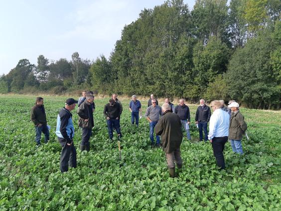 Bornholmere hørte om pløjefri dyrkning - har du behov for et erfa møde?