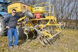 300 ha med en traktor og en Claydon
