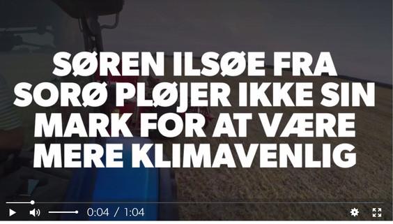 Dagstema om Conservation Agriculture i DR P4 Sjælland i mandags