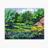 Canvas Print of Phineas Wright House, Bolton