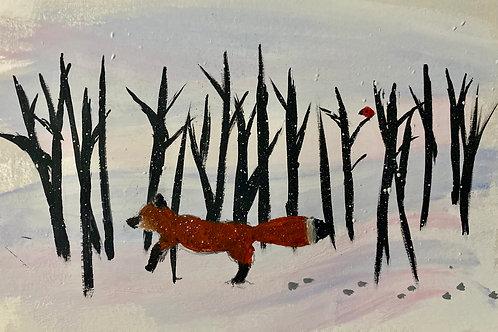 Winter Walk by guest artist Matilda Jacobsen